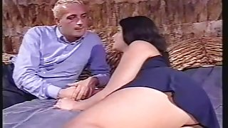 Jessica sucks veiny euro cock in nice hardcore video