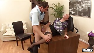 Hailey Young Ass Fucked In The Office