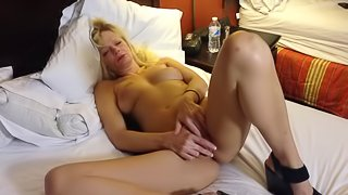 hooker touching herself 1