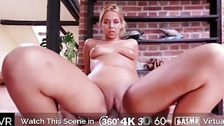HoliVR _ Special Training for Busty Blond Babe