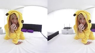 REALJAMVR - PLAYFUL PICKACHU KNOWS WHAT TO SHOW YOU