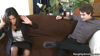 Raylene & Xander Corvus in My Friends Hot Mom