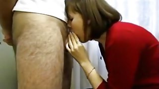 Wife giving head