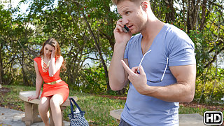 Levi Cash & Sarah Miller in Sling shot - MilfHunter